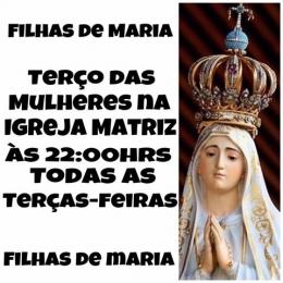 Terço das Mulheres - Filhas de Maria